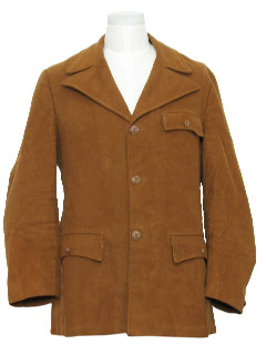 1960's Mens Coat Jacket