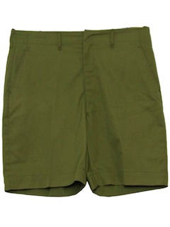 1960's Mens Mod Boy Scout Shorts
