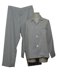 1980's Mens Pajamas