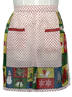 1960's Womens Accessories - Ugly Christmas Apron to Wear With Your Sweater