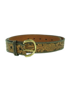 1990's Mens Accessories - Leather Western Belt