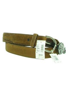 1990's Mens Accessories - Leather Western Hippie Belt
