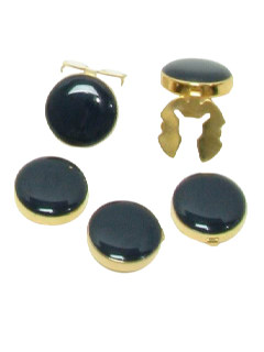 1980's Mens Accessories - Button Cover Set