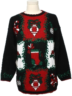 1980's Unisex Ugly Christmas Vintage Sweater