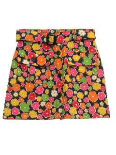 1960's Womens Mini Skirt