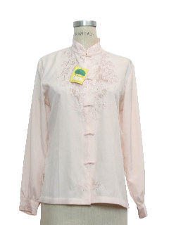 1980's Womens Embroidered Shirt
