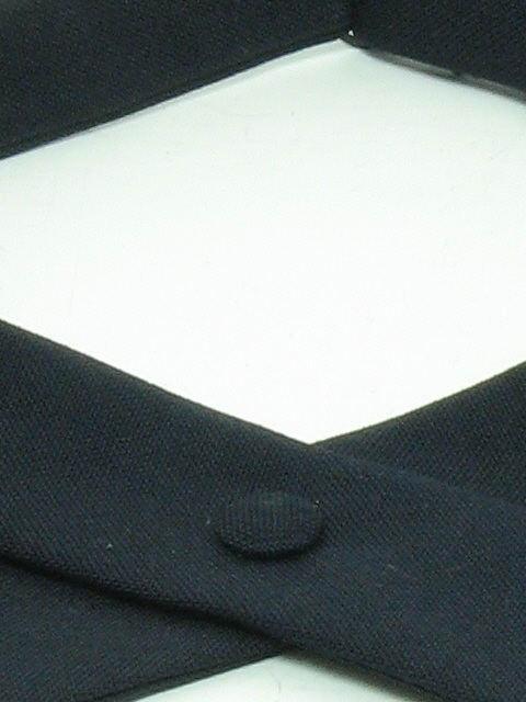 1960's Mens Mod Tuxedo Bowtie Necktie