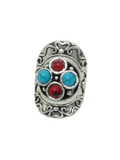 1970's Womens Accessories Jewelry - Silver Hippie Ring