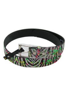 1980's Unisex Totally 80s Look Belt