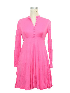 1970's Womens Babydoll Dress
