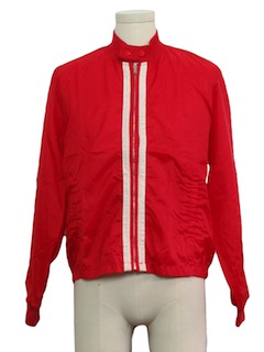 1970's Unisex Mod Racing Jacket
