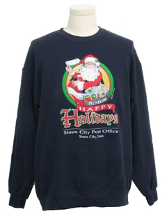 1980's Unisex Post Office Ugly Christmas Sweatshirt