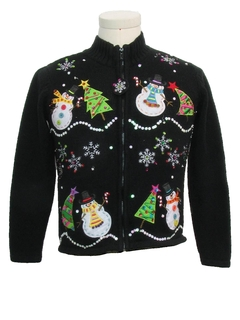 1980's Womens or Girls Ugly Christmas Sweater