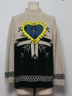 1980's Unisex Grateful Dead Ugly Christmas Sweater