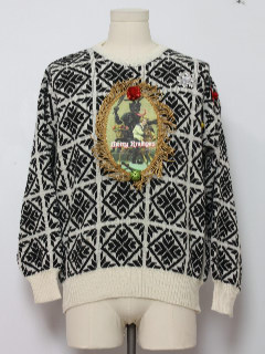 1980's Unisex Krampus Ugly Christmas Vintage Sweater