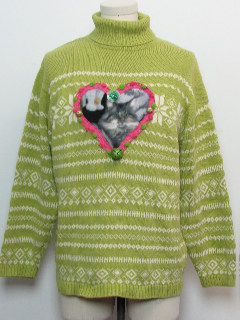 1980's Unisex Catmus Ugly Christmas Sweater