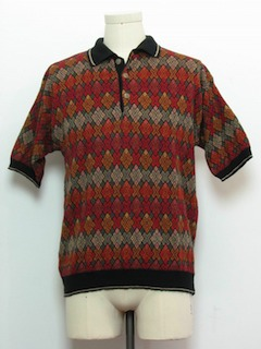 1980's Mens Knit Shirt