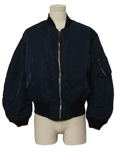 1980's Mens Airforce Military Flight Jacket