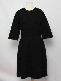 1950's Womens Wool New Look Dress