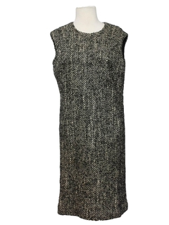 1970's Womens Wool Mod A-line Dress
