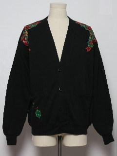 1980's Unisex Ugly Christmas Vintage Cardigan Sweatshirt
