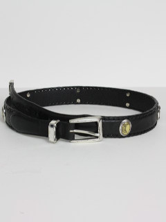 1990's Mens Accessories - Leather Golf Style Preppy Belt