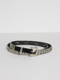1990's Womens Accessories - Skinny Leather Belt