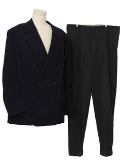 1940's Mens Bold Look combo suit