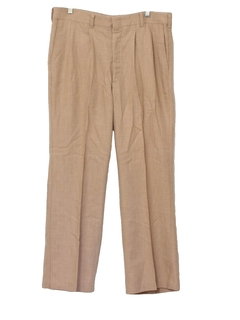 1970's Mens Polyester Flared Disco Pants