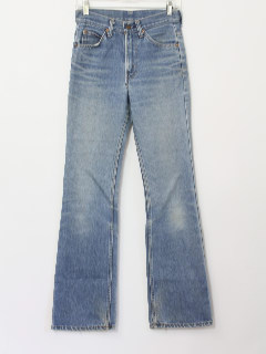 1970's Mens Flared Jeans Pants