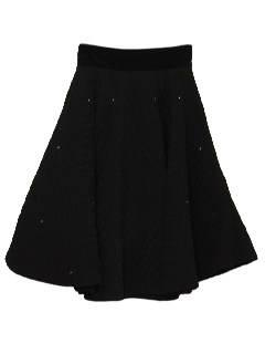 1960's Womens Fab Fifties Cocktail Circle Skirt