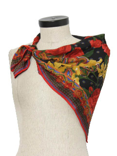 1990's Womens Accessories - Silk Scarf