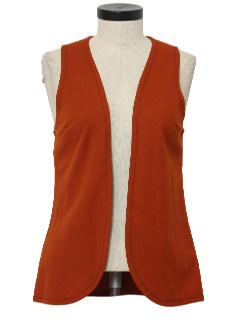1970's Womens Clutch Vest