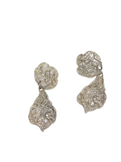 1960's Womens Accessories - Clip Earrings