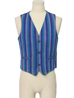 1990's Mens Hippie Suit Vest