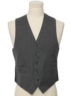1970's Mens Suit Vest