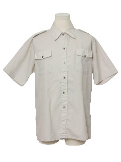 1970's Mens Safari Style Shirt