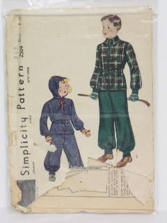 1940's Unisex/Childs Pattern