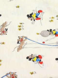 1940's Home Decor -Disney Fabric