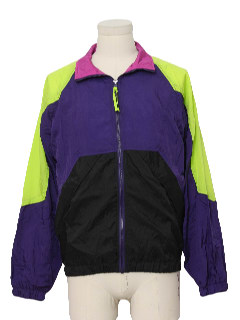 1990's Mens Wicked 90s Windbreaker Jacket