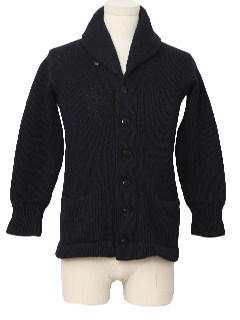1930's Mens Cardigan Sweater