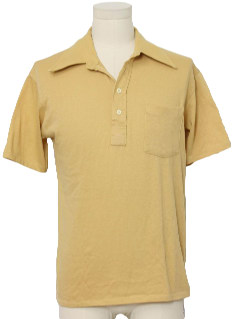 1970's Mens Polo Shirt