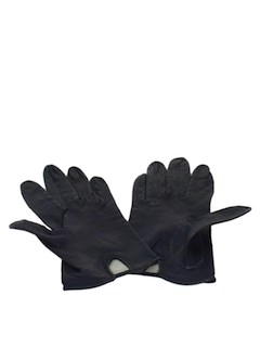1940's Womens Accessories - Leather Gloves