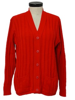 1970's Womens Cardigan Sweater