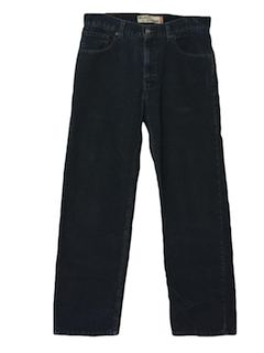 1980's Mens Corduroy Jeans Cut Pants