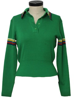 1980's Womens Knit Shirt