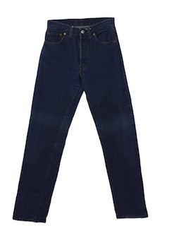 1980's Mens Button Fly Jeans Pants