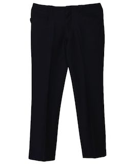 1970's Mens Polyester Western Style Flared Leisure Pants
