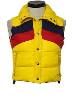 1970's Womens Ski Vest