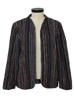 1980's Womens Hippie Style Jacket
